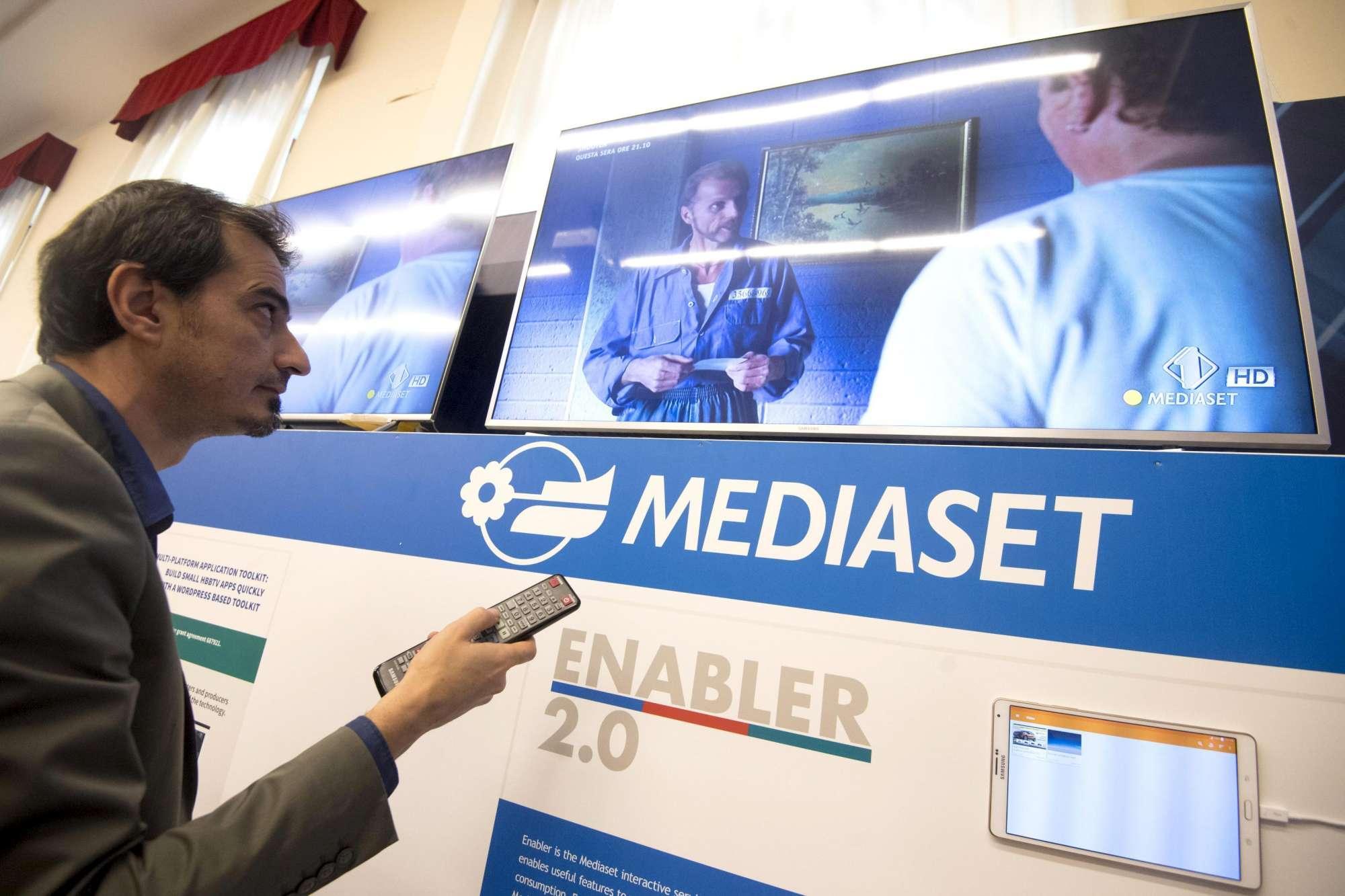 Tv ibrida e interattiva, piattaforma Mediaset Enabler 2.0 a partire da giugno 2018