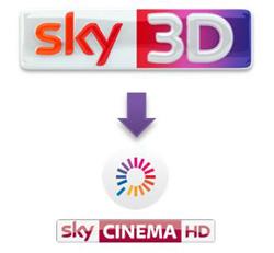 Da oggi la programmazione di Sky Cinema 3D è compresa in Sky On Demand