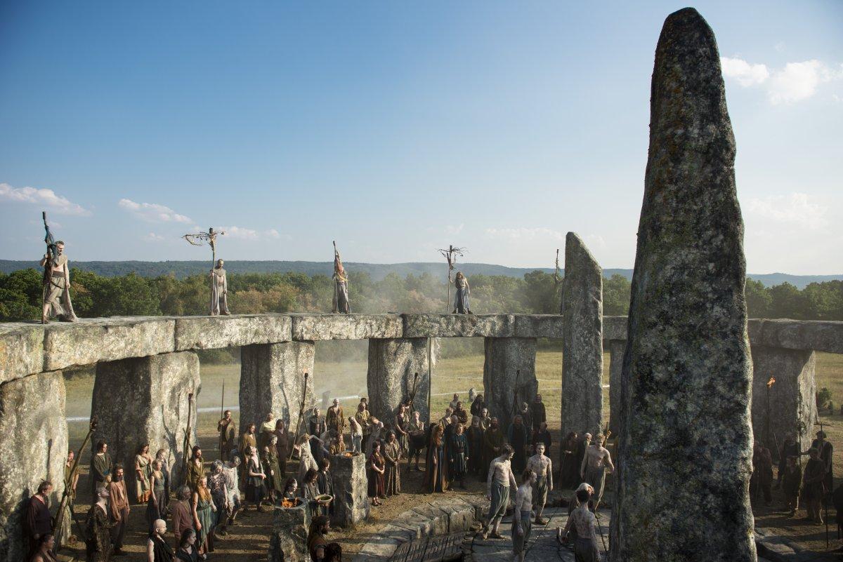 Britannia, produzione originale Sky Atlantic HD il dramma storico si intreccia con il fantasy