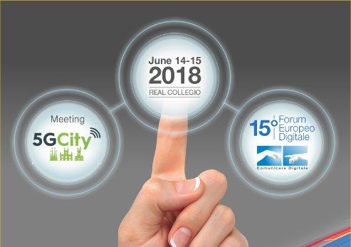 Il Forum Europeo Digitale 15esima edizione a Lucca il 14 e 15 Giugno 2018