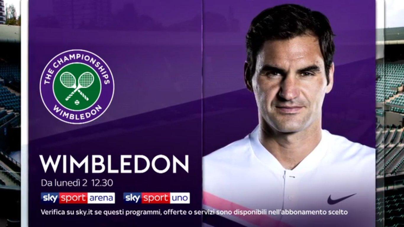 Tennis Wimbledon 2018, le qualificazioni live su Sky Sport.