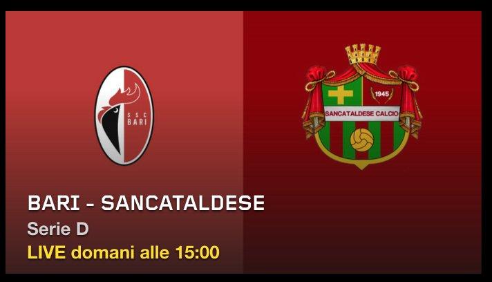Calcio, tutte le partite SSC Bari (Serie D) in diretta esclu