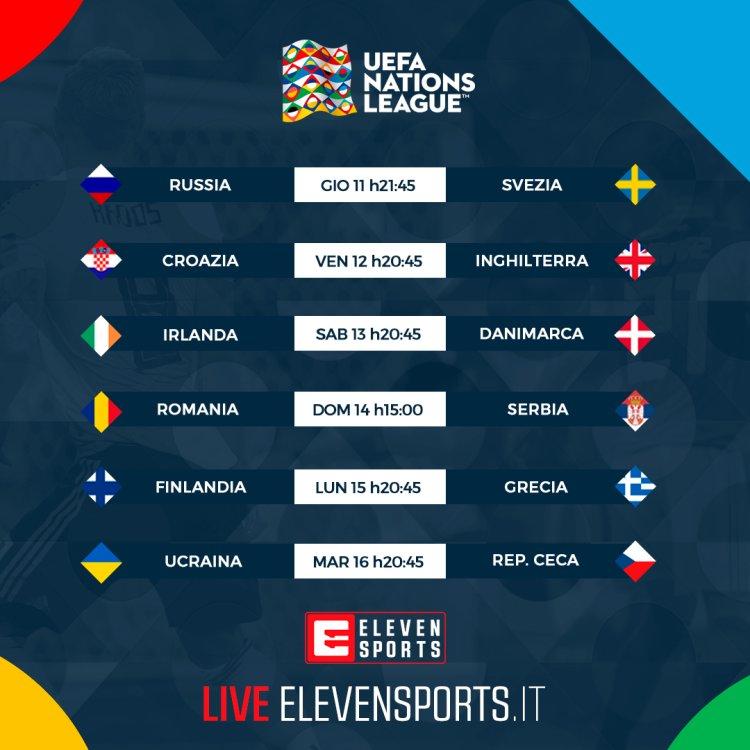 Calendario Uefa Nations League.Alcuni Match Nations League In Diretta Streaming Gratis Su