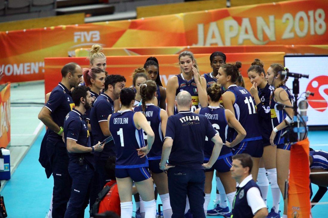 Volley Mondiale Femminile Semifinale: Italia   Cina (diretta
