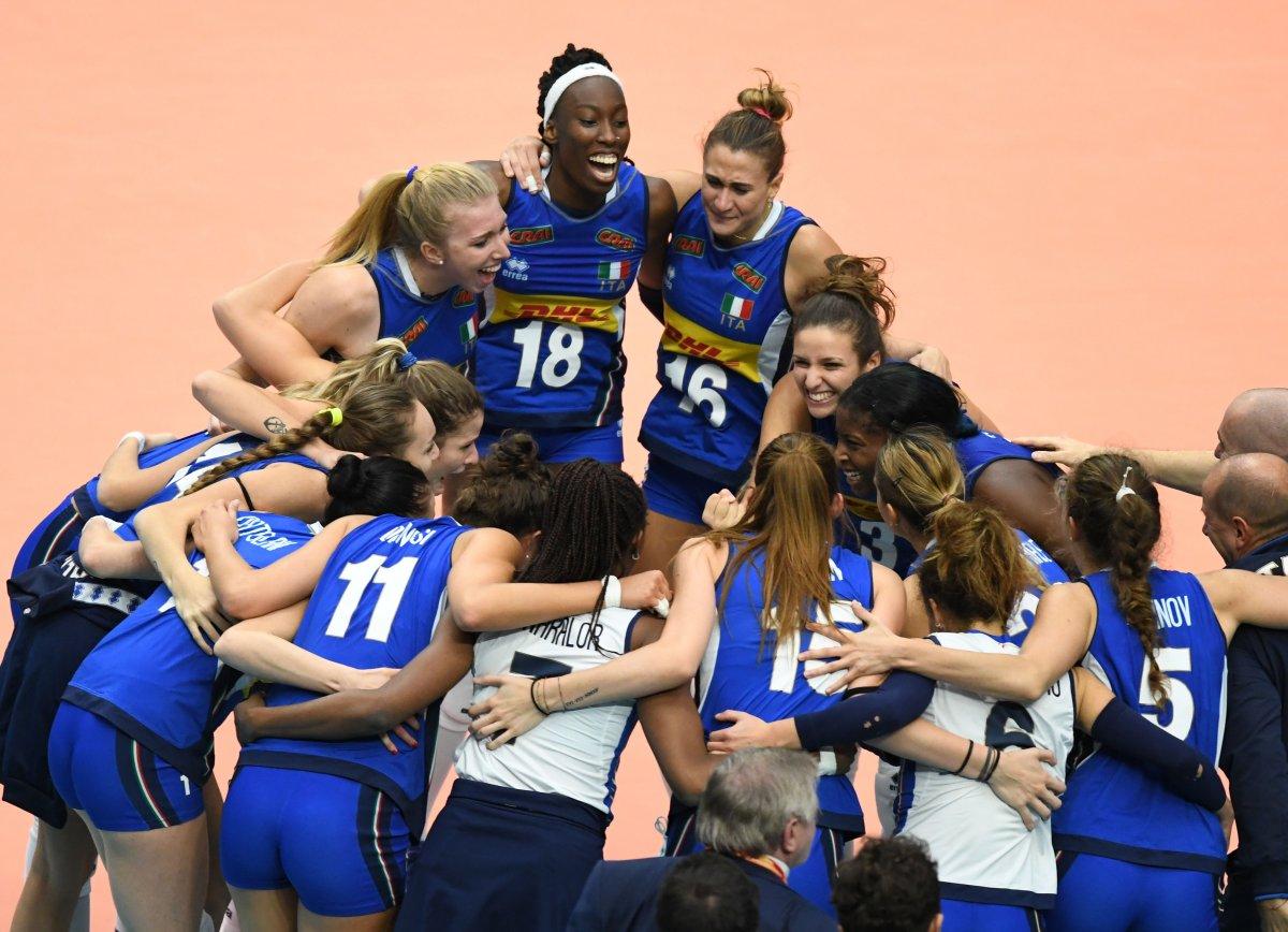Volley Mondiale Femminile 2018 Finale: ITALIA   Serbia (dire