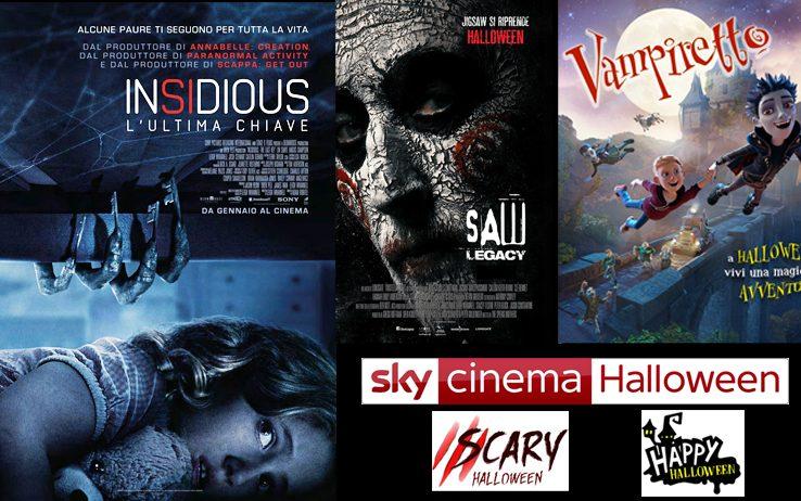 Halloween su Sky Cinema con due canali dedicati alla notte p