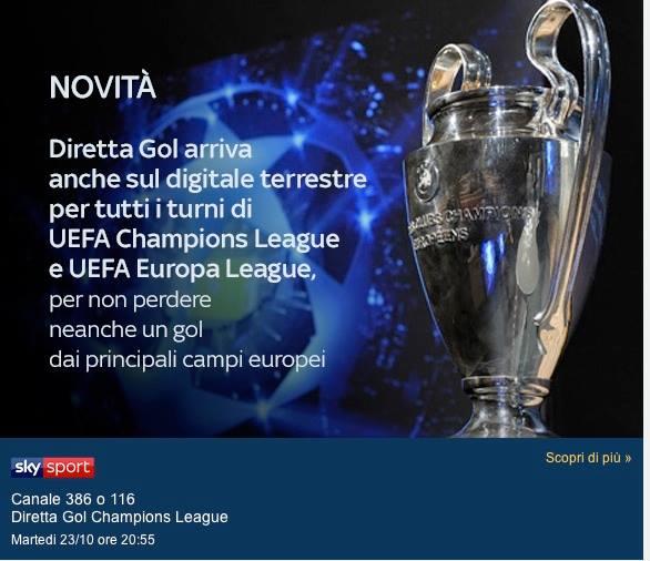 Sky Sport Champions 3a Giornata, Diretta Esclusiva | Palinse
