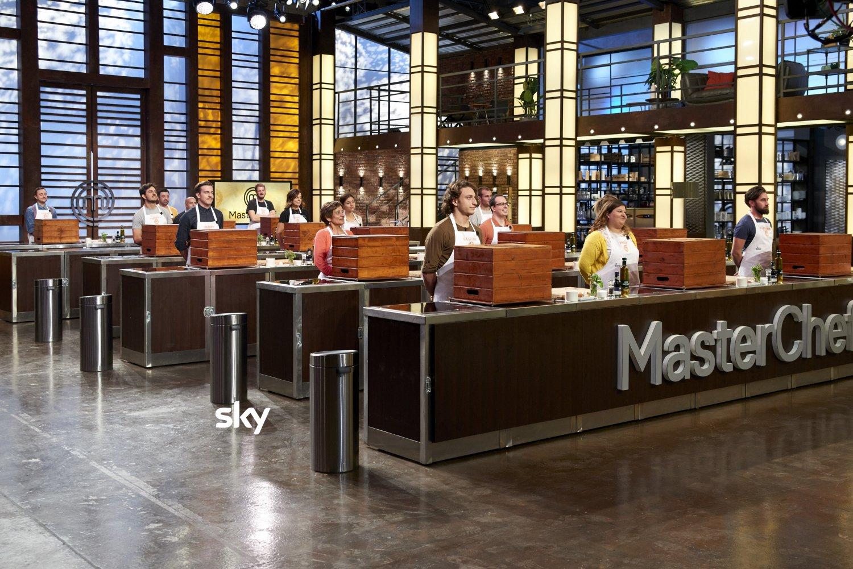 MasterChef Sky Uno, la MasterClass al lavoro con Associazion
