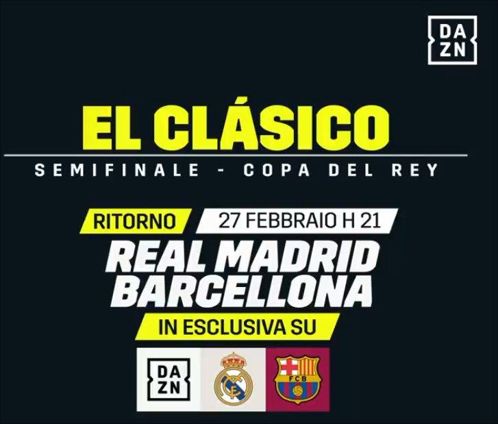Barcellona (ore 21, Diretta