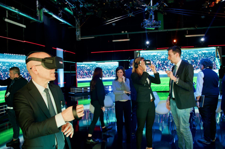 Intergruppo Innovazione Camera e Senato in visita a Sky Ital