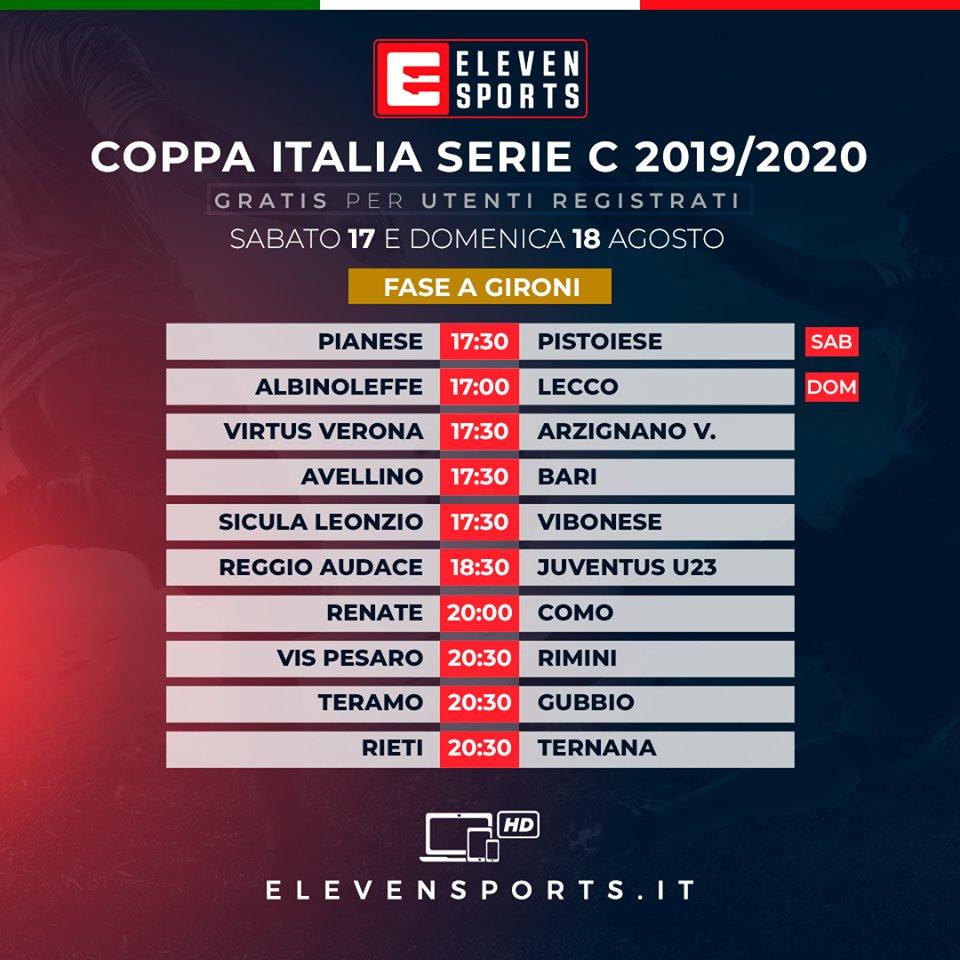 Calendario Serie C.Serie C 2020 18 Calendario