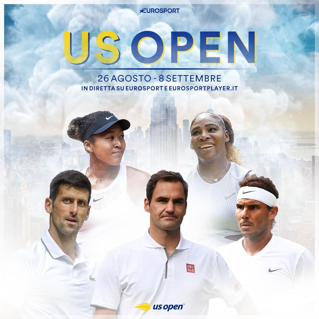 Tennis La 139 Edizione Degli Us Open In Diretta Su Eurosport Sky E Dazn Digital News