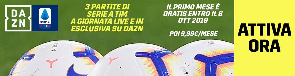Calcio Estero DAZN, Programma e Telecronisti 20   23 Settemb