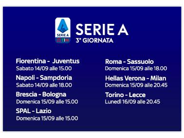 Sky Sport Serie A 3a Giornata Diretta Esclusiva Palinsesto E Telecronisti Fiorentina Juventus 4k Digital News