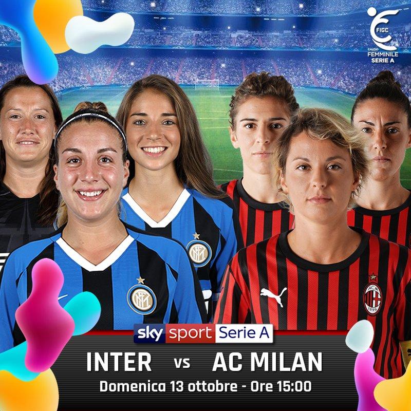 Domenica delle Donne Sky Sport con Juventus-Florentia e il derby di Milano