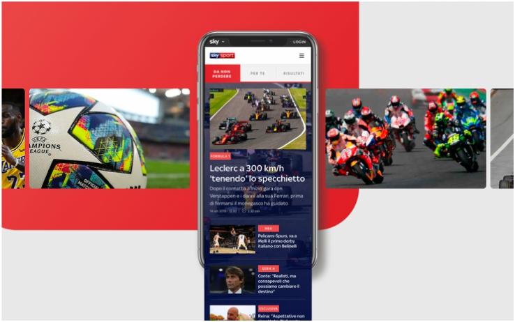 Da oggi online il nuovo SkySport.it, la casa digital di Sky Sport