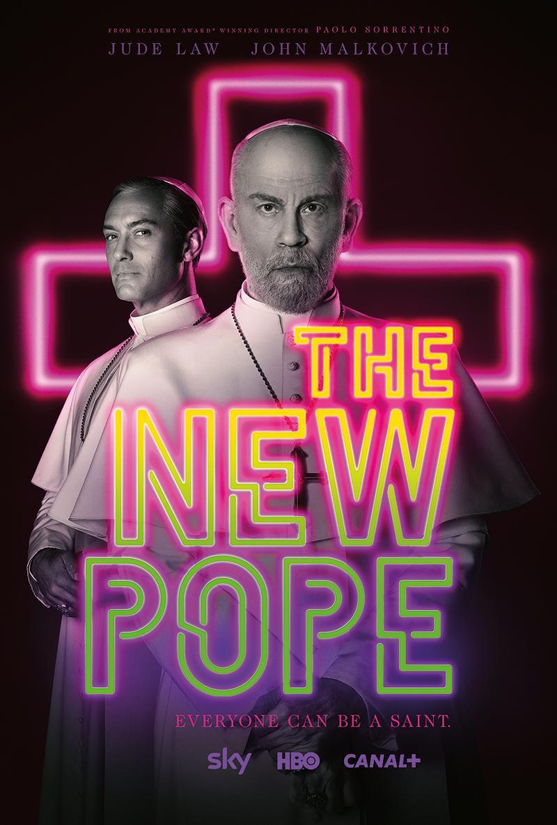 The New Pope, il trailer della serie tv in onda su Sky dal 10 gennaio 2020