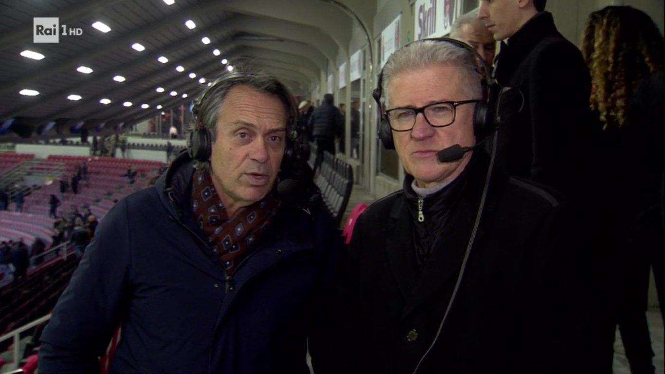 Ottimi ascolti per le Semifinali di Coppa Italia in diretta Rai Uno