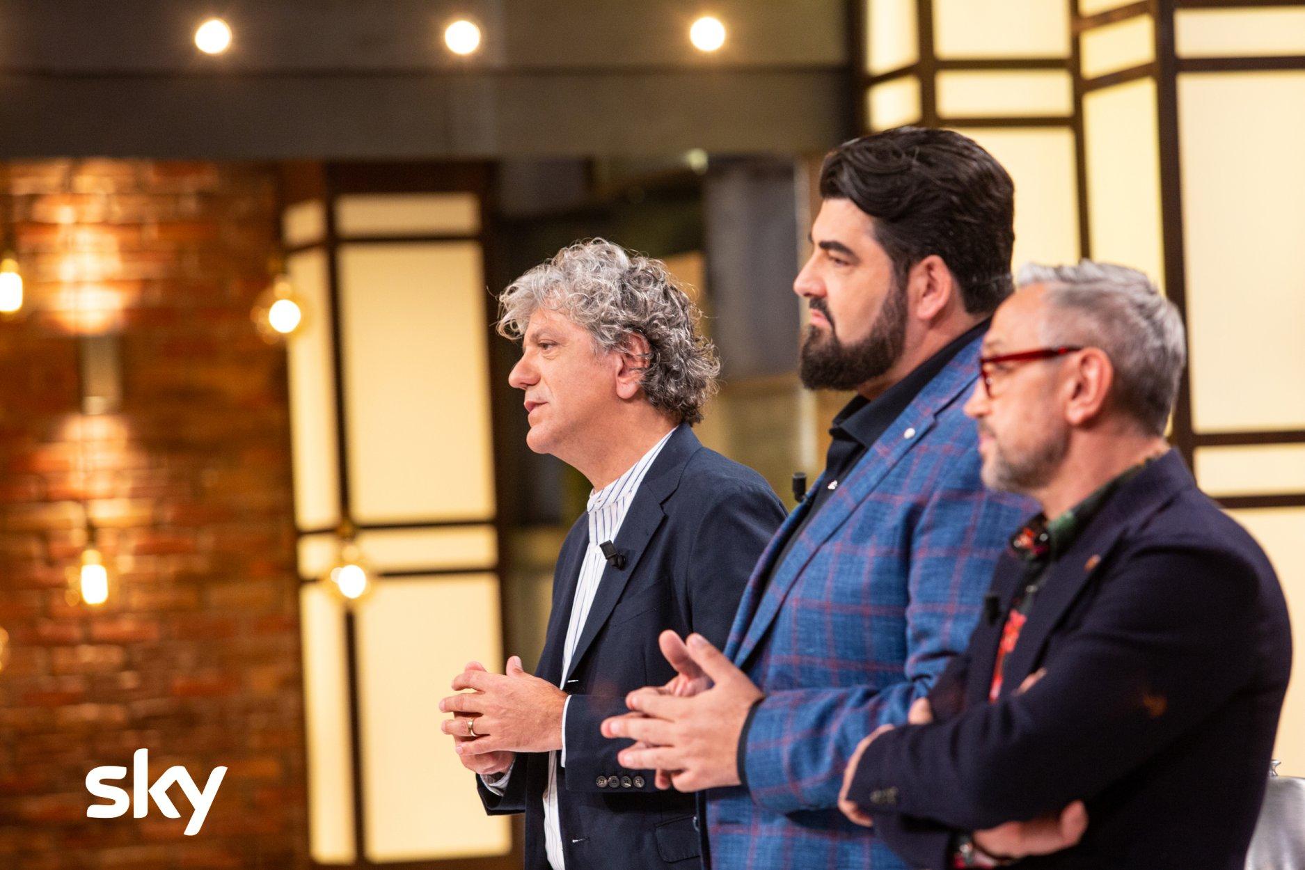 Semifinale di Masterchef su Sky Uno e NOW TV. Prova in ester