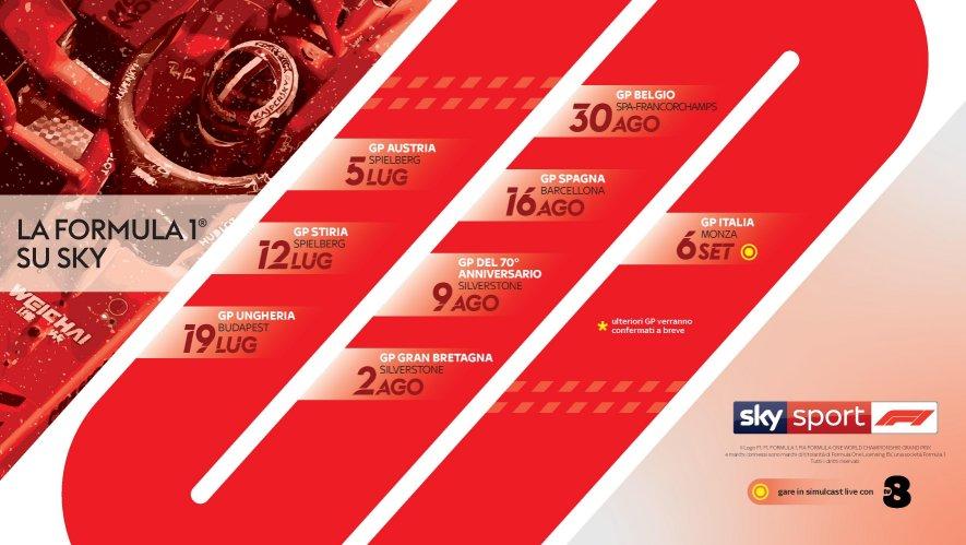 Sky Sport F1, Diretta Esclusiva Gp Austria (2   5 Luglio 202