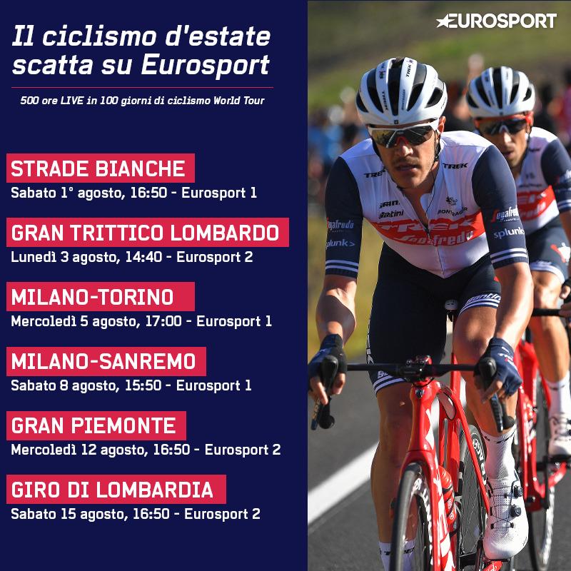 Strade Bianche Inaugura 100 Giorni Di Ciclismo In Diretta Su Eurosport Digital News