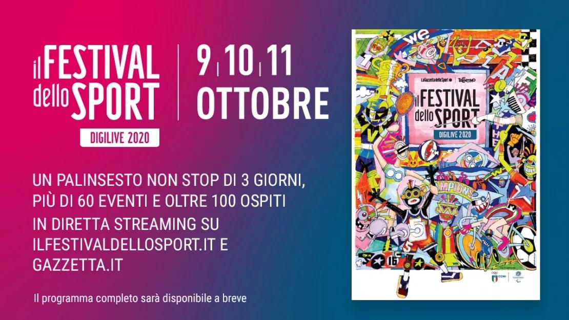 La Gazzetta apre le storie e i campioni del Festival dello Sport in diretta streaming