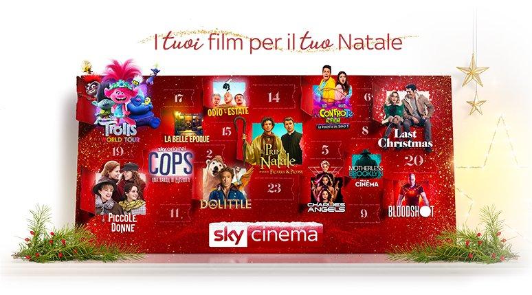 Il Natale di Sky Cinema, a Dicembre torna il canale dedicato ai film tematici