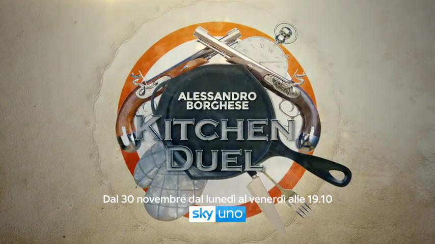 Alessandro Borghese Kitchen Duel, al via la seconda stagione su Sky e NOW TV