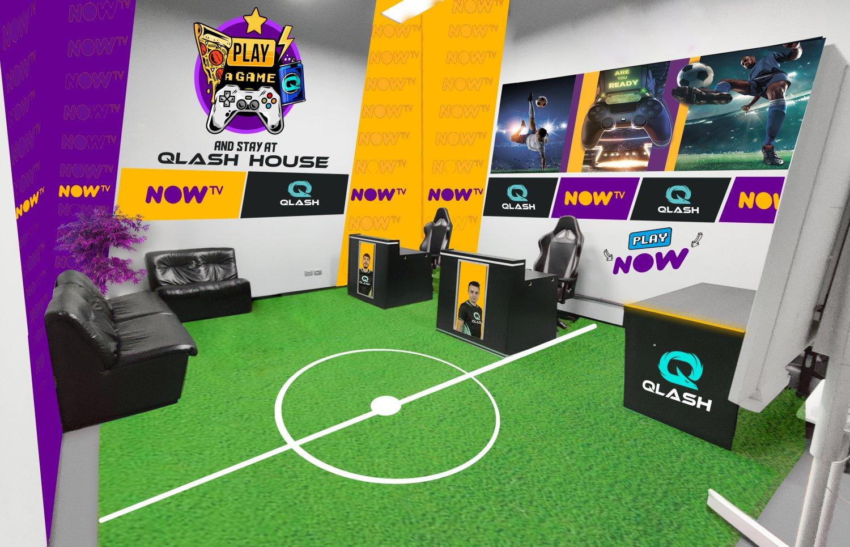 NOW TV e QLASH insieme nel mondo eSports