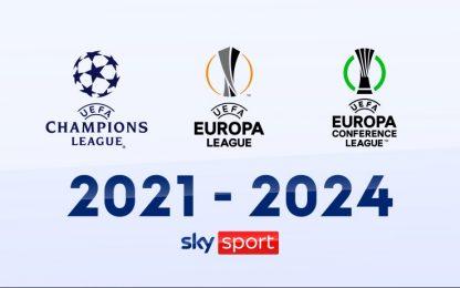 Sky Sport Europa e Conference League, Diretta 1a Giornata - Palinsesto Telecronisti NOW