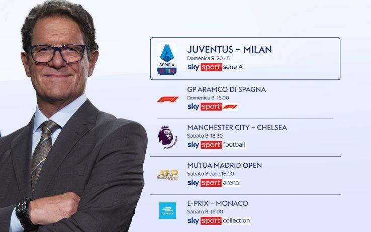Sky Sport Super Weekend (8 e 9 Maggio )   Formula 1, Eprix, Premier, Tennis, Serie A