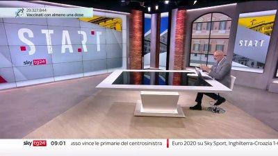 Sky TG24 da oggi con un nuovo logo e una nuova veste grafica