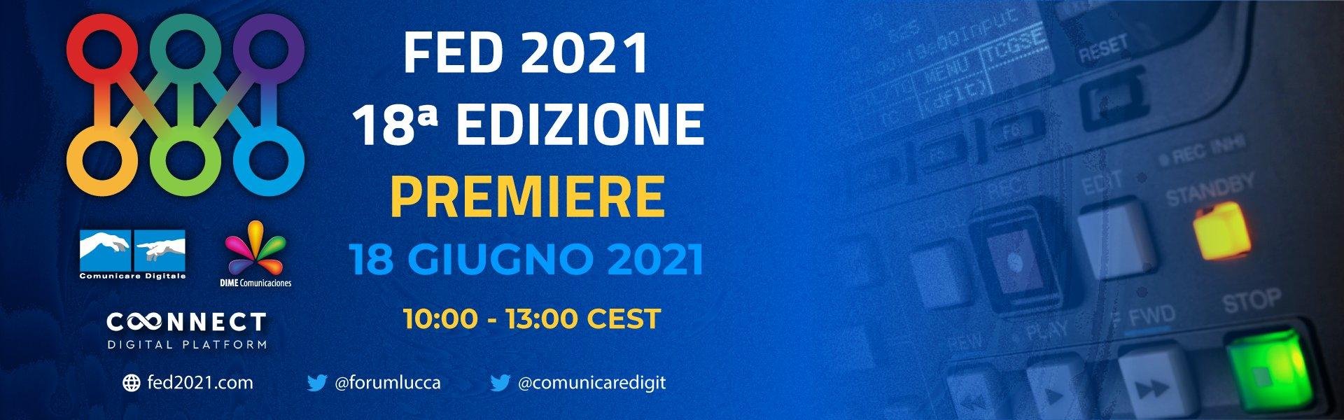18 Forum Europeo Digitale, atto primo 18 Giugno 2021! (diretta Digital-News.it)