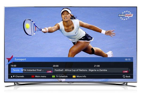 samsung smart tv a tutto sport con l 39 app eurosport player