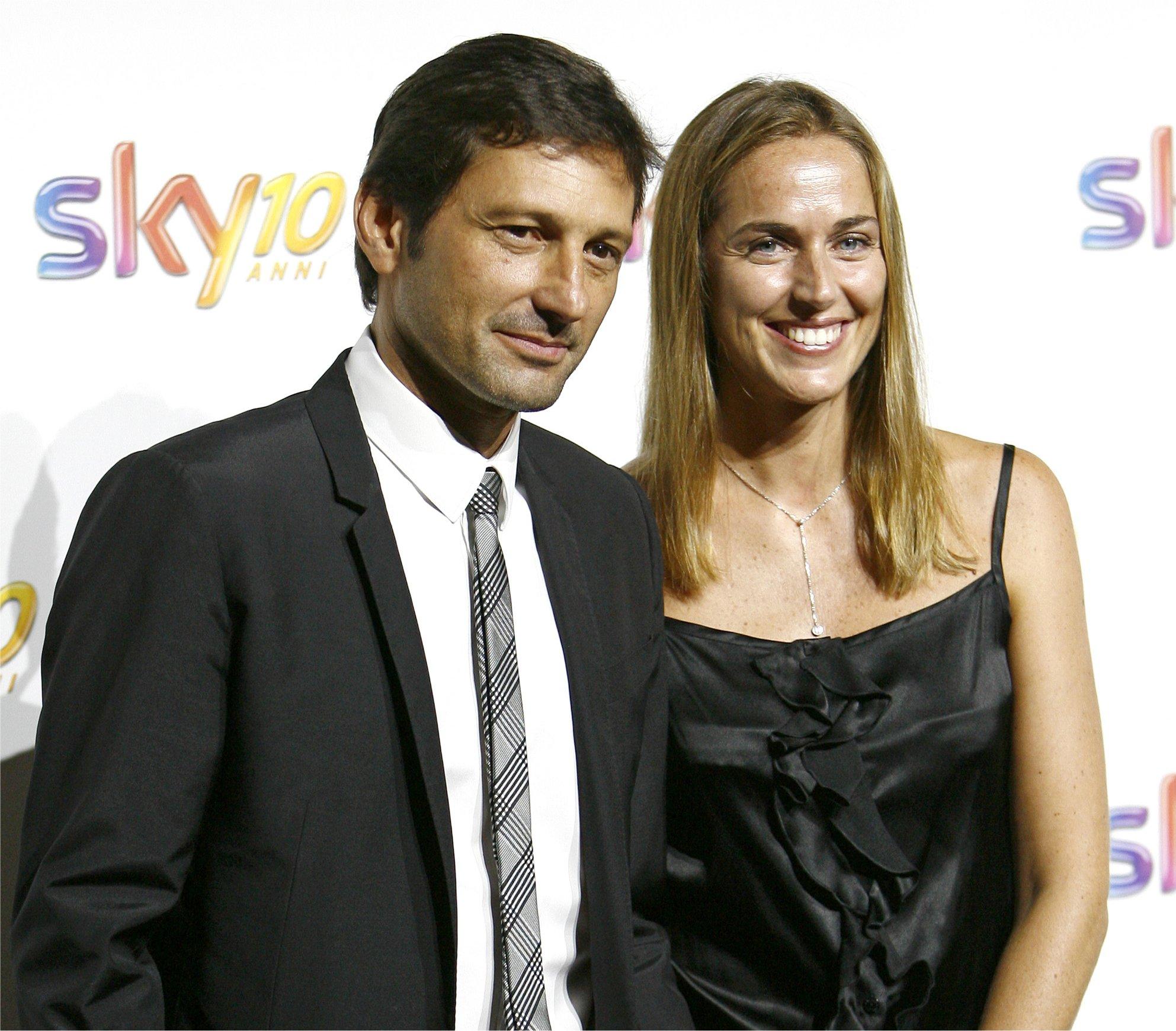 Leonardo e Anna Billò insieme nello studio di Sky Sport per ...
