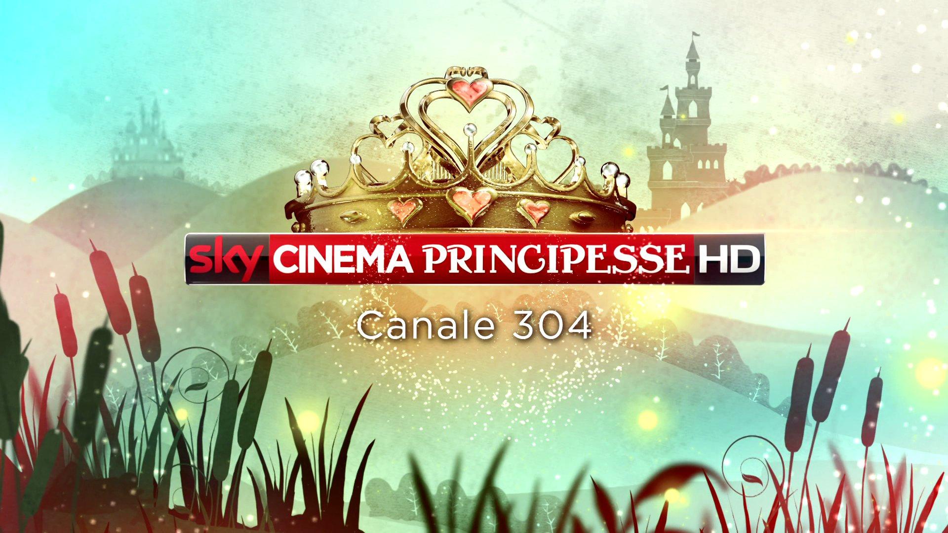 Sky Cinema Principesse, interamente dedicato a tutte le beni