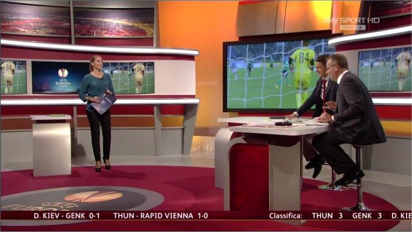 Salisburgo Napoli Hd: Sky Sport HD Europa League 16esimi Andata