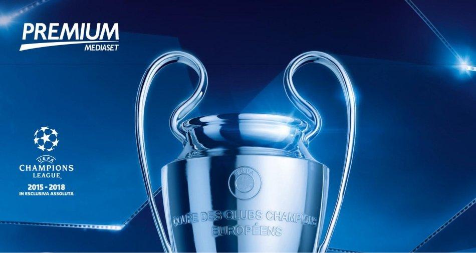 Premium Mediaset, Champions 5a giornata - Programma e Telecronisti
