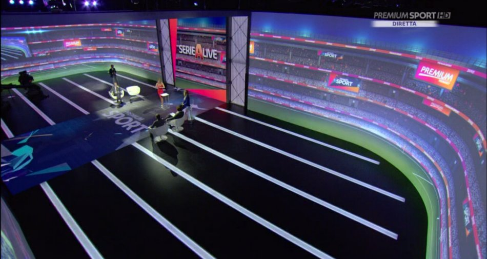 Serie A Premium Sport Diretta Recupero 27 Giornata - Palinsesto e Telecronisti Mediaset