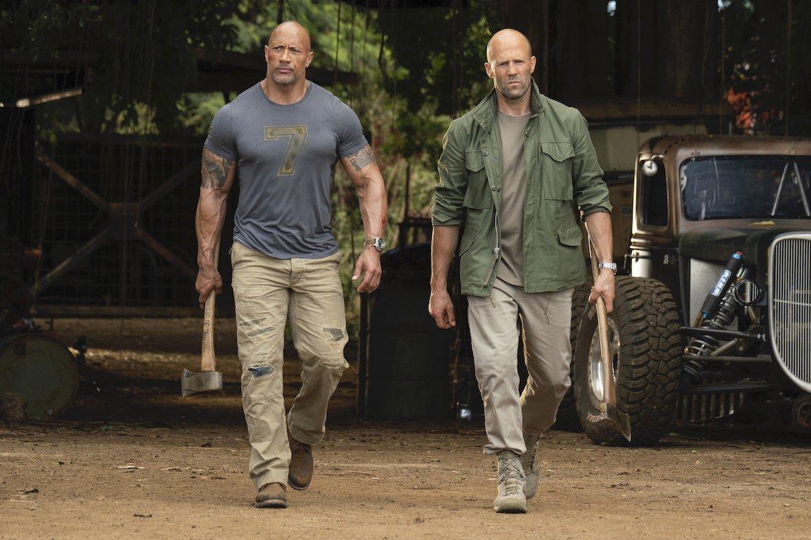Martedi 27 Ottobre 2020 Sky Cinema HD, Fast & Furious: Hobbs & Shaw
