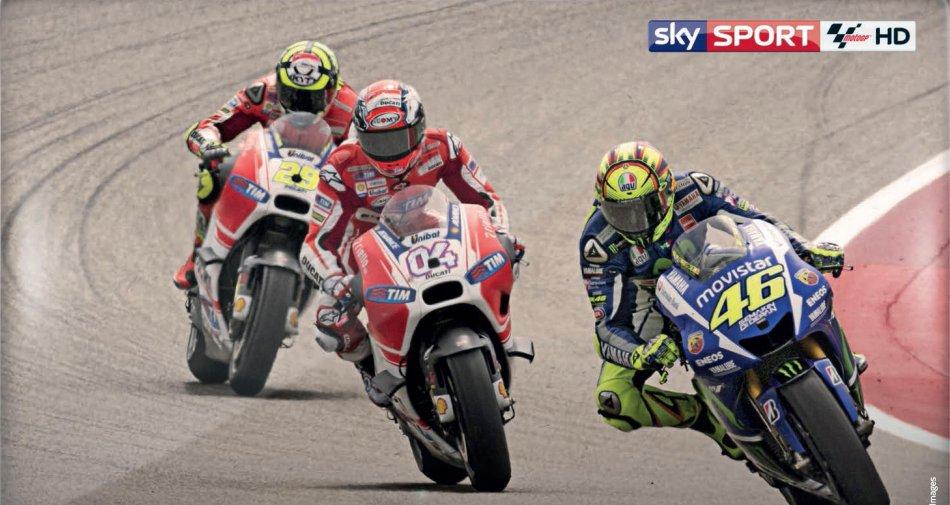 Sky Sport MotoGP HD Gp Repubblica Ceca, Palinsesto dal 13 al 16 Agosto 2015
