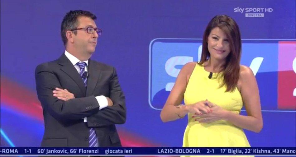 Sky Sport, Serie A 2a Giornata - Programma e Telecronisti