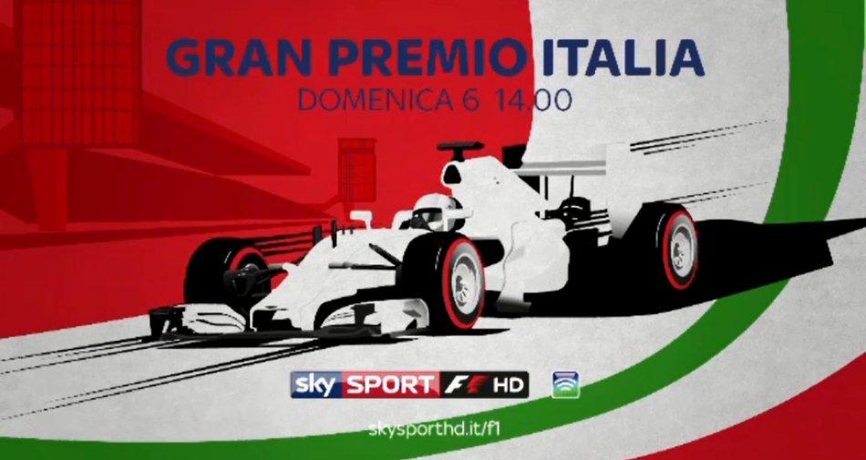 Sky Sport F1 HD, Gp Italia Palinsesto 3 - 6 Settembre 2015 #SkyMotori