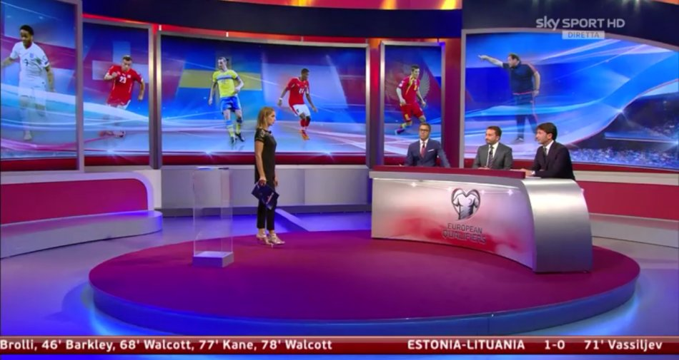 Sky Sport HD Qualificazioni Euro2016 8a giornata Programma e Telecronisti