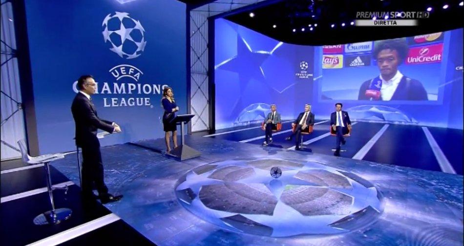 Premium Mediaset, Champions 3a giornata - Programma e Telecronisti