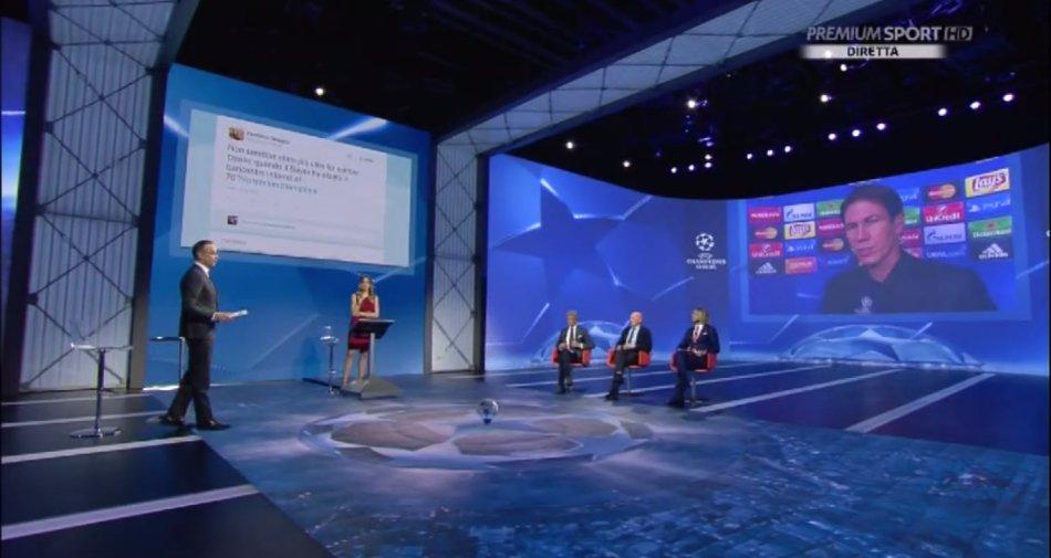Premium Mediaset, Champions 4a giornata - Programma e Telecronisti