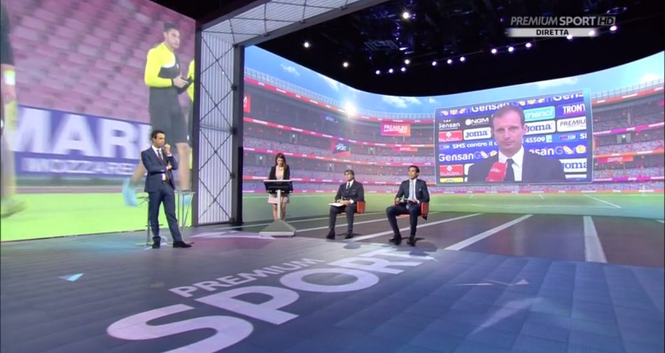 Premium Mediaset, Serie A 13a Giornata - Programma e Telecronisti