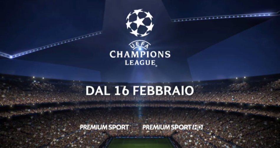 Premium Mediaset, Champions Ottavi Andata  #1 - Programma e Telecronisti