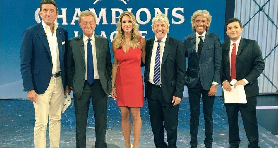 Premium Mediaset, Champions Playoff Ritorno - Palinsesto e Telecronisti