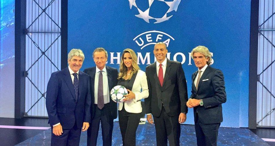 Premium Sport, Champions Diretta 2a Giornata - Palinsesto e Telecronisti Mediaset